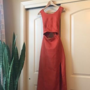 Free People The Simple Life Persimmon Maxi